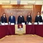 PRESENCIA EL GOBERNADOR EL 4° INFORME DE LABORES DEL SUPREMO TRIBUNAL DE JUSTICIA