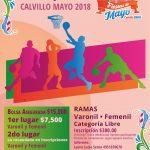 Gran actividad deportiva en las Fiestas de Mayo Calvillo 2018