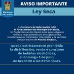PUBLICAN LEY SECA PARA FIN DE SEMANA