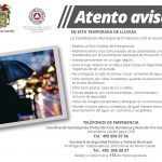 Emite municipio recomendaciones por lluvias