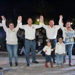 CALVILLO RESPALDA A JOSÉ MANUEL VELASCO EN CIERRE DE CAMPAÑA