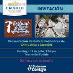 7º FETIVAL NACIONAL DE FOLKLORE AGUASCALIENTES EN CALVILLO