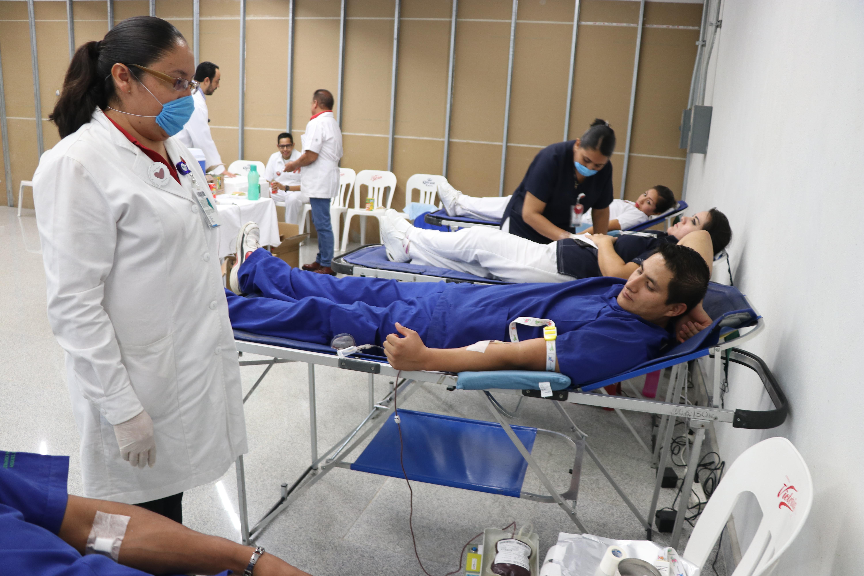 LLEVA A CABO ISSEA CAMPAÑA INTERNA DE DONACIÓN DE SANGRE