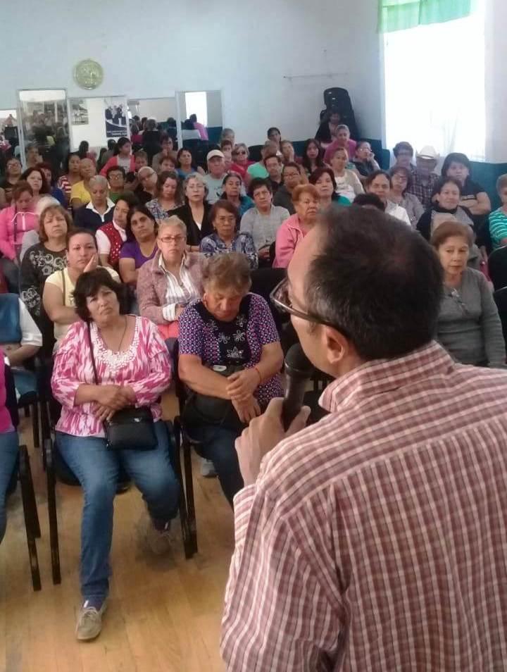 IMPARTEN PLÁTICAS DE PREVENCIÓN DE LA AUTO PRIVACIÓN DE LA VIDA