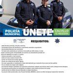 CONVOCATORIA PARA RECLUTAR POLICIAS