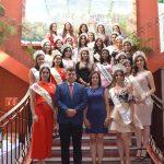 REINA Y PRINCESAS DE LA FNSM 2018 PARTICIPAN EN ENCUENTRO DE REINAS EN CALVILLO