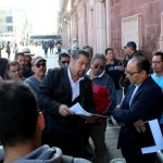 SEGGOB MANTIENE EL DIÁLOGO CON LOS TAXISTAS  DE LA AGRUPACIÓN ACTUA 143