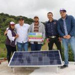 CON EL USO DE ENERGÍA SOLAR SE ELEVA LA CALIDAD DE VIDA DE LOS CALVILLENSES QUE VIVEN EN REGIONES APARTADAS DEL MUNICIPIO