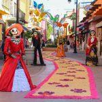 Camino de Magia, activación en el Andador Centenario de Calvillo, en el Festival Tú y las Calaveras