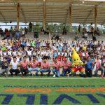 Club Necaxa realizó clínica de entrenamiento con 100 niños calvillenses y se entregaron 2 bicicletas del programa Goles por un Buen Camino