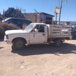 Conducía camioneta con placas sobrepuestas y fue detenido en Calvillo