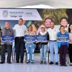 GOBERNADOR DEL ESTADO ENTREGÓ 1,500 APOYOS DURANTE EL REINICIO DEL PROGRAMA CRECER CON  VALORES