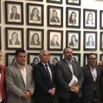 SE REÚNE EL PLENO DEL ITEA CON LOS INTEGRANTES DE LA COMISIÓN DE TRANSPARENCIA Y ANTICORRUPCIÓN DEL  CONGRESO