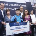 ENTREGA  EL GOBERNADOR 35 MDP A ORGANIZACIONES  CIVILES PARA MEJORAR LA CALIDAD DE VIDA DE LOS GRUPOS VULNERABLES