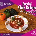Festival del Chile Relleno y la Capirotada, 16 y 17 de marzo en Calvillo Pueblo Mágico