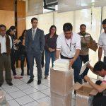 Entrega IEE Lista Nominal de Electores a partidos políticos y candidatos independientes