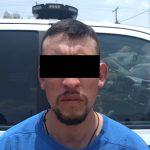 Por lesiones con arma blanca y amenazas sujeto fue detenido
