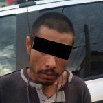 Cuando llevaba seis envoltorios con droga entre sus pertenencias, fue detenido