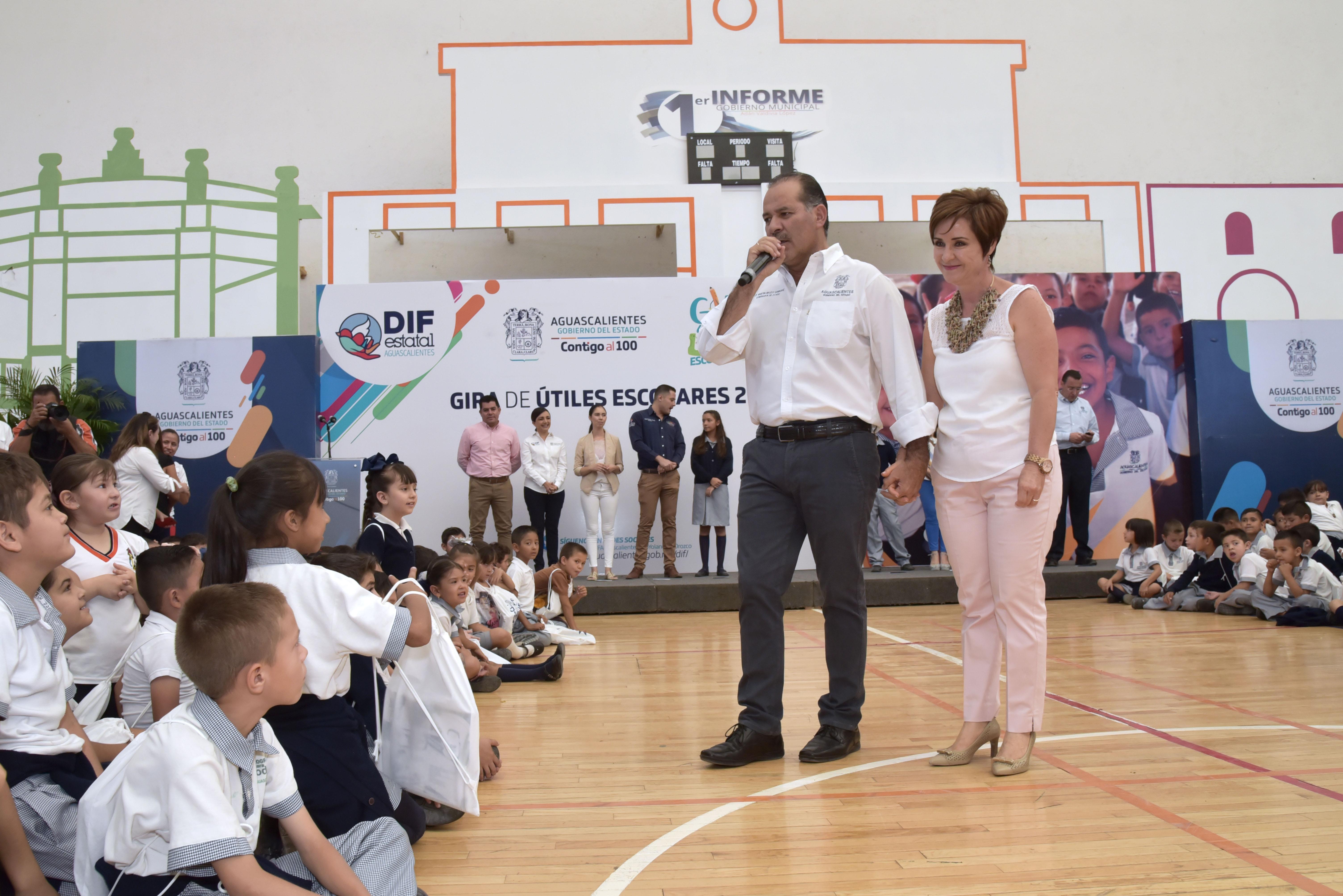 ARRANCA GIRA DE ÚTILES ESCOLARES 2019