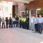 Reconocieron el esfuerzo de la brigada de combate a los incendios forestales