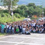 Estudiantes reforestaron 4 kilómetros del Boulevard Rodolfo Landeros en Calvillo