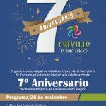 Séptimo Aniversario del nombramiento de Calvillo Pueblo Mágico