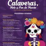Festival Calaveras, Mole y Pan de Muerto del 31 de octubre al 3 de noviembre en Calvillo Pueblo Mágico