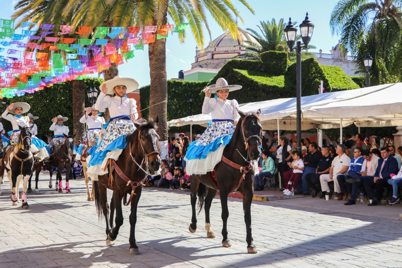 Se conmemoró el 109 Aniversario de la Revolución Mexicana