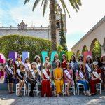 Reinas y Princesas de municipios y de la FNSM visitaron Calvillo Pueblo Mágico
