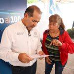 GOBERNADOR MARTÍN OROZCO MÁS CERCA DE LAS FAMILIAS DE AGS CON EL PROGRAMA CONTIGO AL  100