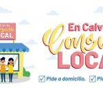 Gobierno municipal de Calvillo inició el programa #ConsumeLocal Pide a domicilio. Pide para llevar.