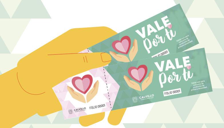 Presenta Gobierno Municipal de Calvillo programa Vale Por Ti en apoyo a desempleados y familias en situación vulnerable