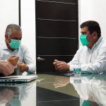Plena coordinación del gobierno estatal con el gobierno municipal para reactivar la obra pública en Calvillo