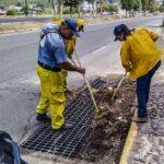 Servicios Públicos y Protección Civil realizan tareas de prevención por inicio de la Temporada de Lluvias 2020