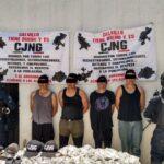 CAPTURAN A INTEGRANTES DE UN GRUPO DELICTIVO EN EL MUNICIPIO DE CALVILLO