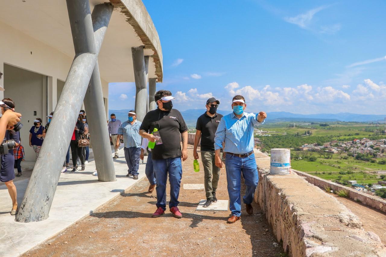 El Complejo Santa Cruz consolidará a Calvillo como el mejor destino turístico de la región: Adán Valdivia