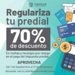Invitan a ciudadanos de Calvillo a regularizar su pago del impuesto predial
