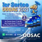 El 1er Sorteo OOSAC 2021 premia a los usuarios cumplidos de Calvillo