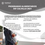 ☑️ Programas Alimentarios DIF 2021 🤰 Mujeres en estado de embarazo