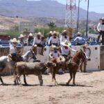 Así se vivió la primera charreada de esta domingo con la participación de los equipos de Rancho del Charro, Rancho El Potrillo y El Roble.