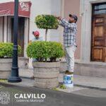 Dignificando los espacios públicos del municipio.