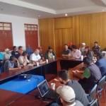 Sesiona Comité Pueblo Mágico con tianguistas y comerciantes semi fijos
