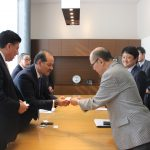 GOBERNADOR DEL ESTADO SE REUNE CON DIRECTIVOS DE LA AGENCIA JAPONESA JICA