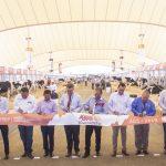 inauguración del 12º Simposio Lechero Internacional Expo Leche GILSA, AgroFest  Alimentaria y de la 4ª etapa de la Expo Ganadera