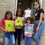 La segunda generación del programa Jóvenes Acción y Valores entregó útiles escolares a estudiantes en situación de vulnerabilidad